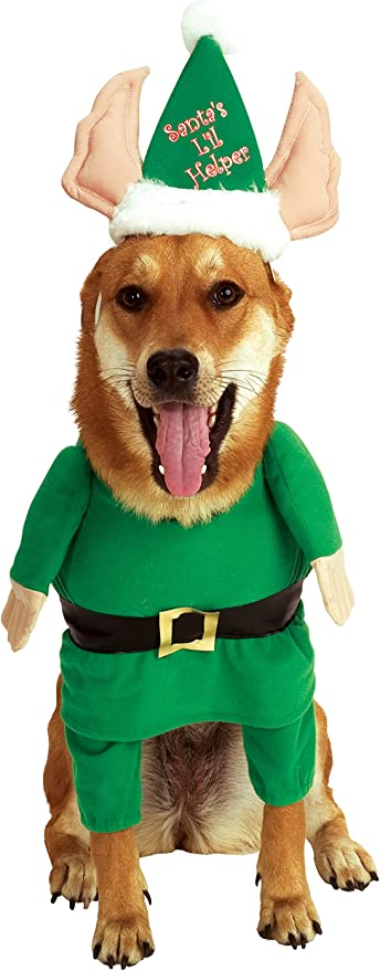 Amazon.com: Rubies Disfraz para mascota de elfo ayudante de ...