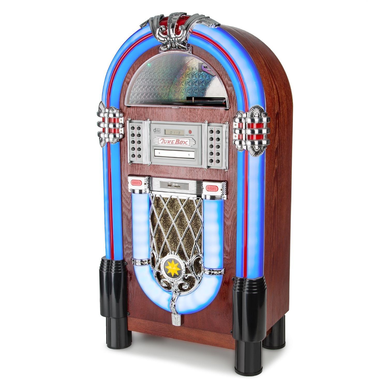 AUNA Graceland TT Jukebox Vintage: Amazon.es: Electrónica