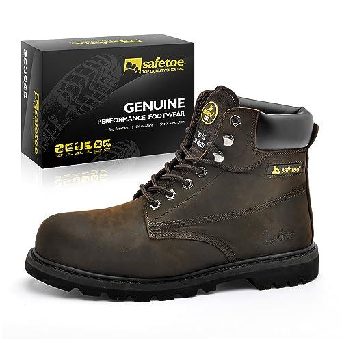 de complementos de de Acero Seguridad Elegantes Hombres Industriales Punta Zapatos y Amazon Zapatos 8179 con es SAFETOE Botas para Trabajo 8HwOOq