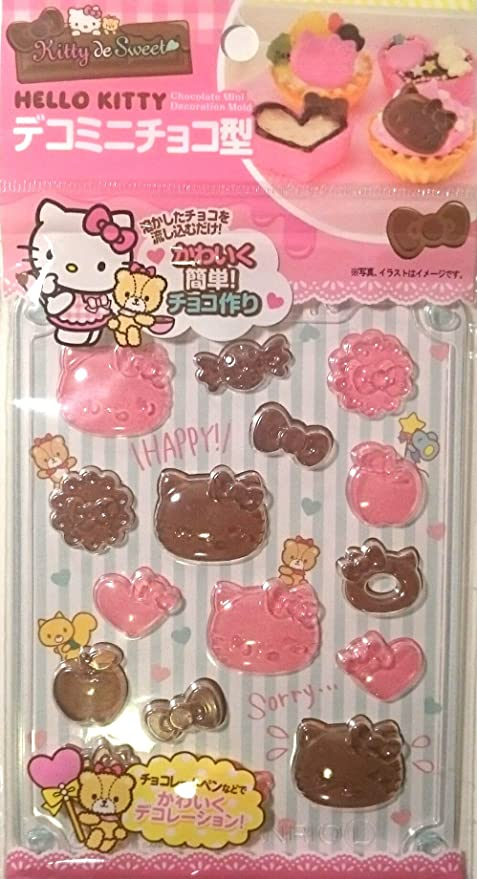 Sanrio My Melody Chocolate Candy Cookie Decoration Making Mold 8 Type Handmade Kit Kitchen Stick