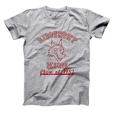 61afd81e Amazon.com: Ridgemont High Funny Old School Classic Fast Times Retro 80s  Movie Humor Mens Shirt: Clothing