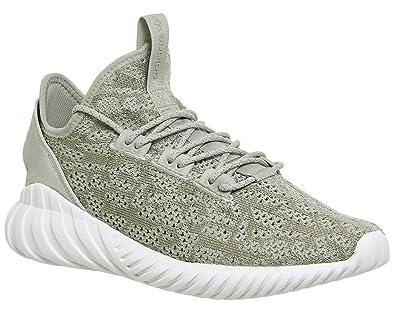Adidas Tubular Doom Sock PK, Zapatillas de Deporte para Hombre, Marrón (Sesamo/Sesamo/Balcri), 44 2/3 EU