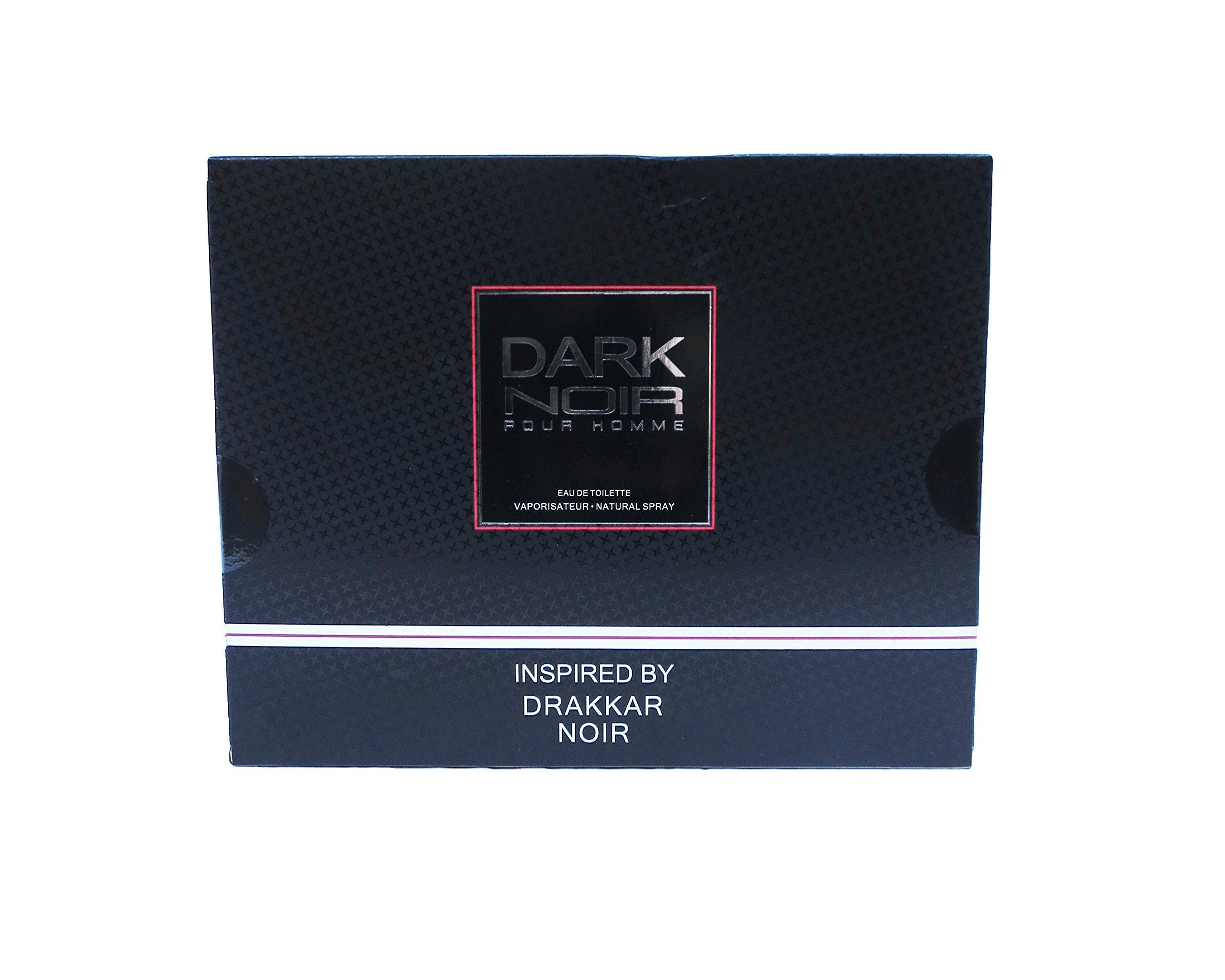 Watermark Beauty Dark Noir Men 3 Piece Fragrance Set for Men, Includes 1.7 Oz Eau De Toilette, 2.7 Oz After Shave, and 2.7 Oz Shower Gel by Watermark Beauty