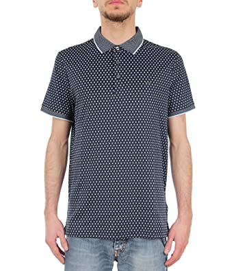 MICHAEL Michael Kors Polo Uomo Mod. CS75FY230U S: Amazon.es: Ropa ...