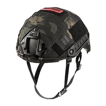 OneTigris PJ - Casco táctico para airsoft paintball con funda para casco, TG-ZSK17