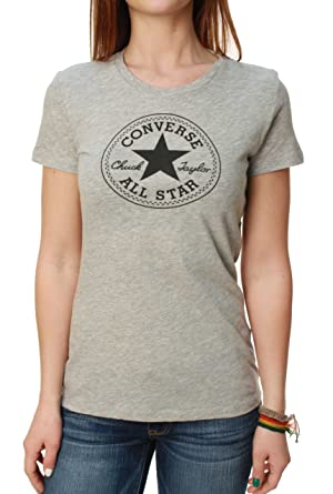 cc9631507d46ef Image Unavailable. Image not available for. Colour  Converse Women s Chuck  Taylor Allstar Short Sleeve Graphic T-Shirt