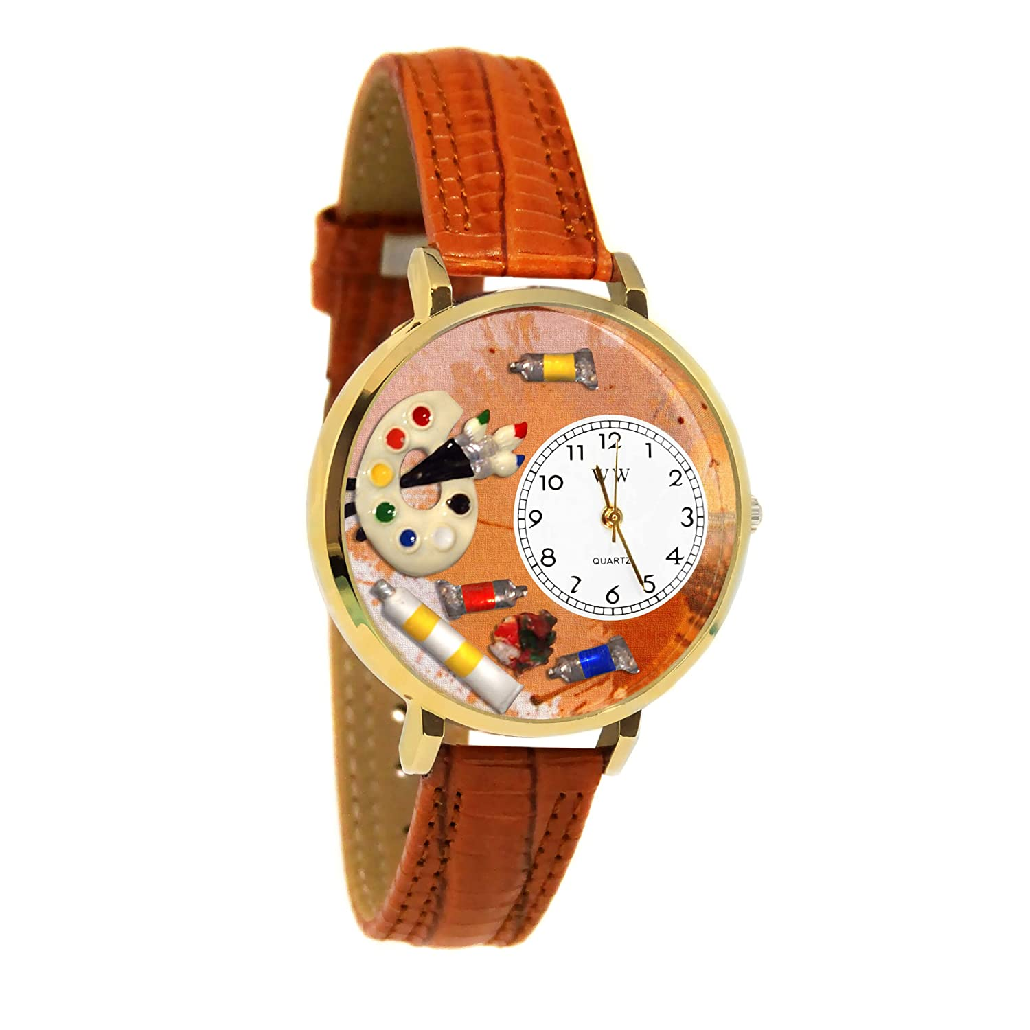 Artist Watch in Gold Large