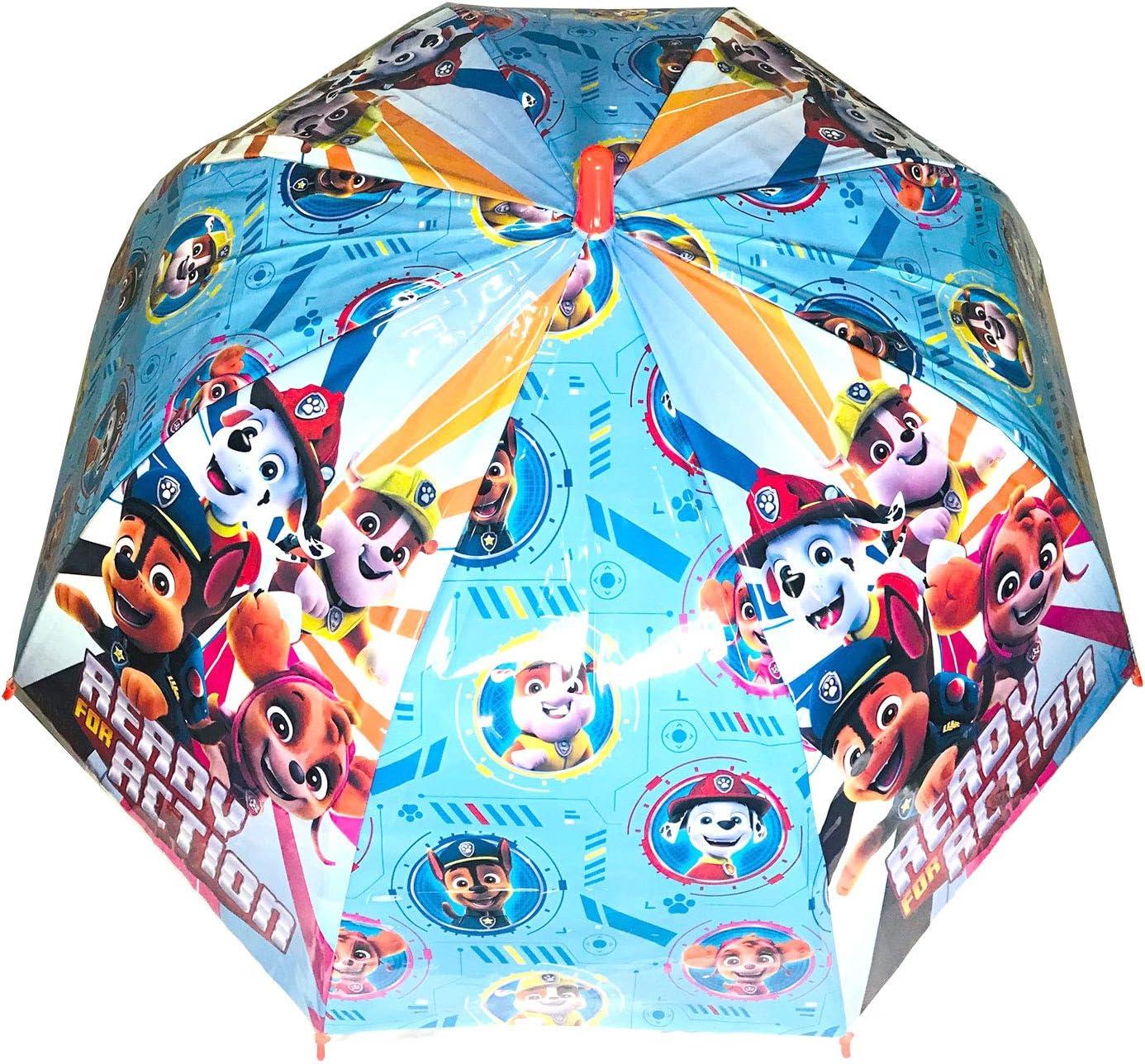 Parapluie Paw Patrol Parapluie d/ôme Automatique pour Enfant 45 cm