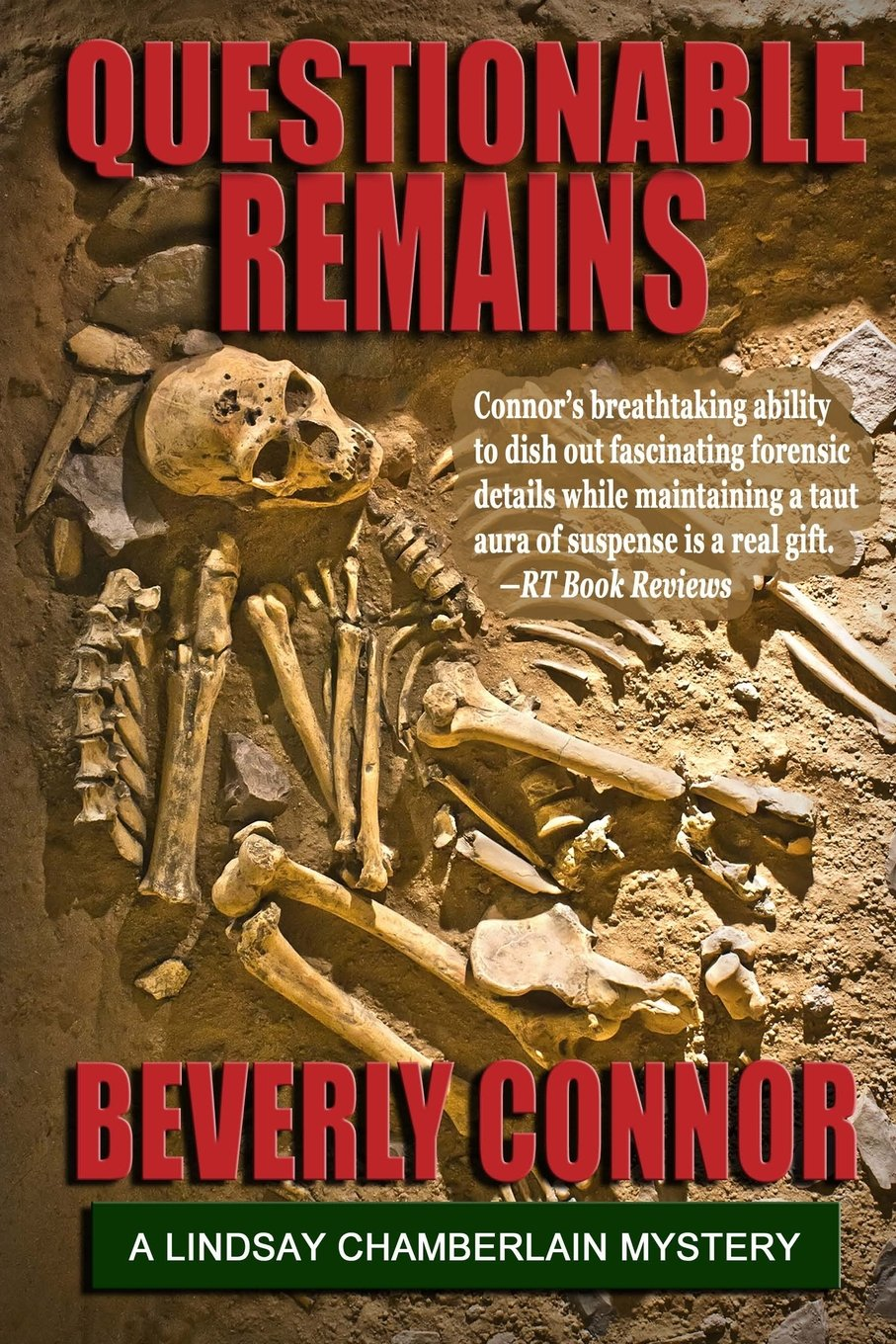 Questionable Remains: Lindsay Chamberlain Mystery #2 pdf