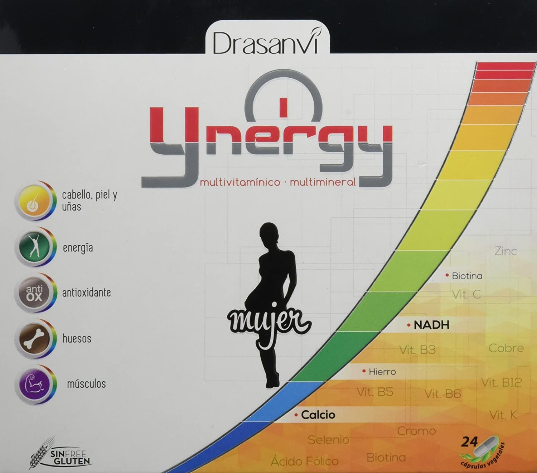Ynergy Mujer 24 cápsulas con Vitaminas, NADH y Minerales Drasanvi: Amazon.es: Salud y cuidado personal