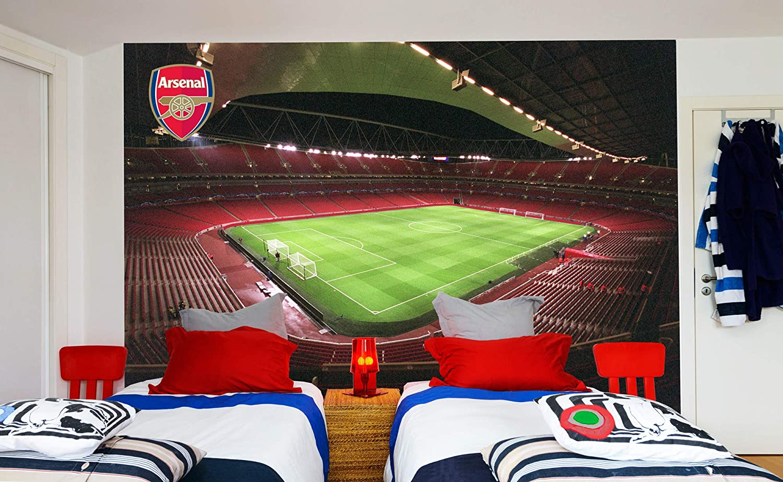 Amazon Com Official Arsenal Football Club Emirates Stadium Full Wall Mural Sticker Decal Vinyl Poster Print 2 3m Height X 3m Width Baby