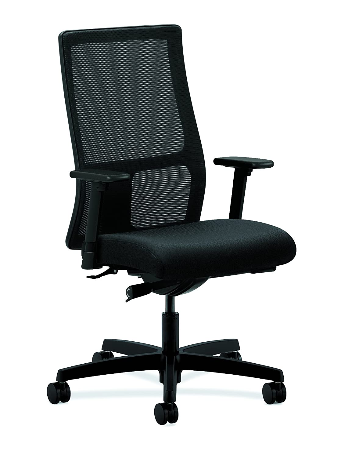 Amazon.com: HON Ignition Series Mid-Back Work Chair - Mesh Computer Chair  for Office Desk, Black (HIWM2): Kitchen & Dining