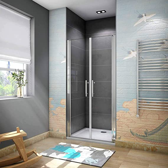 70x195cm Mamparas ducha pantalla baño 6mm Easyclean cristal templado: Amazon.es: Bricolaje y herramientas