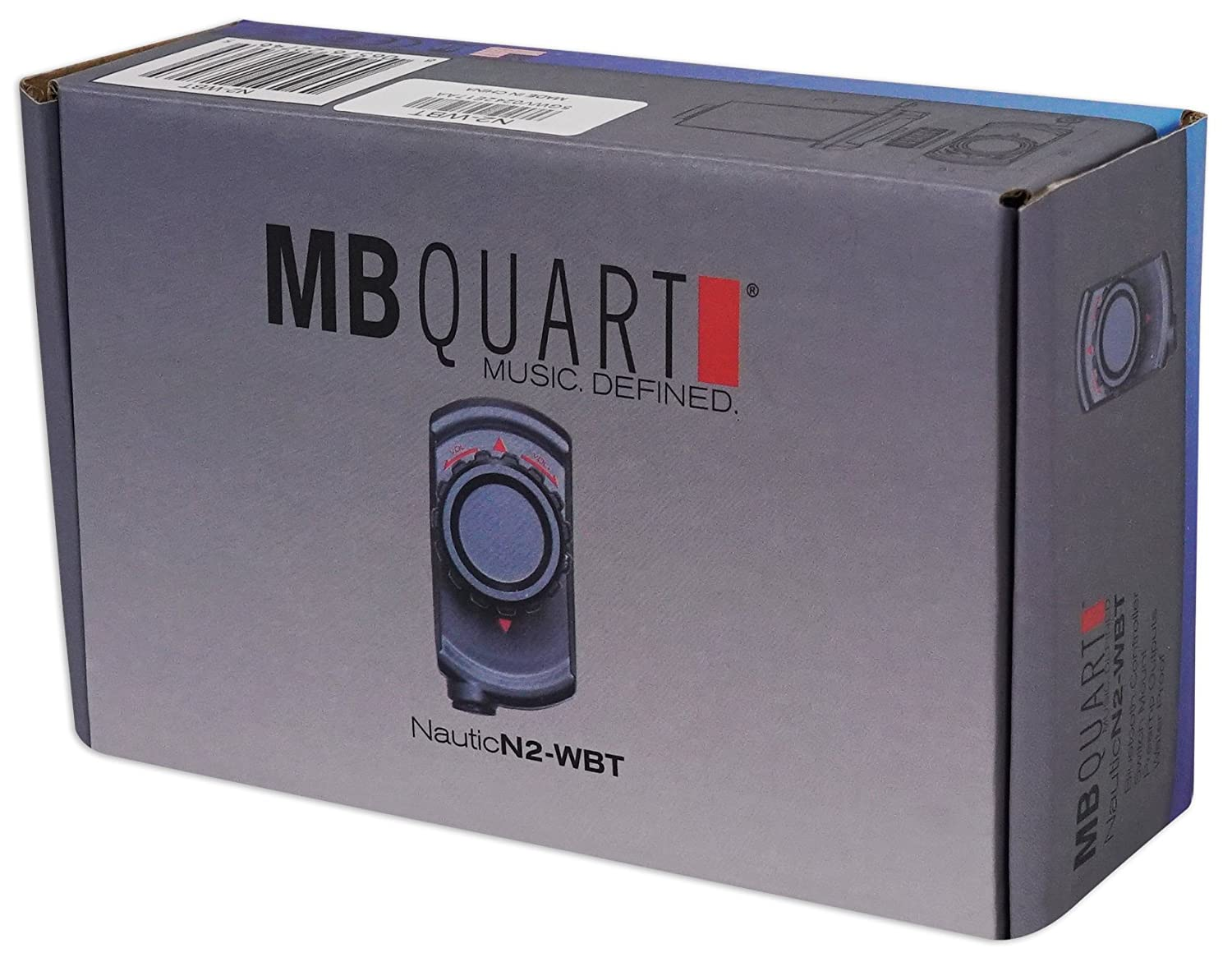 MB QUART N2-WBT Wired Bluetooth Preamp Controller Polaris//ATV//UTV//RZR//CART