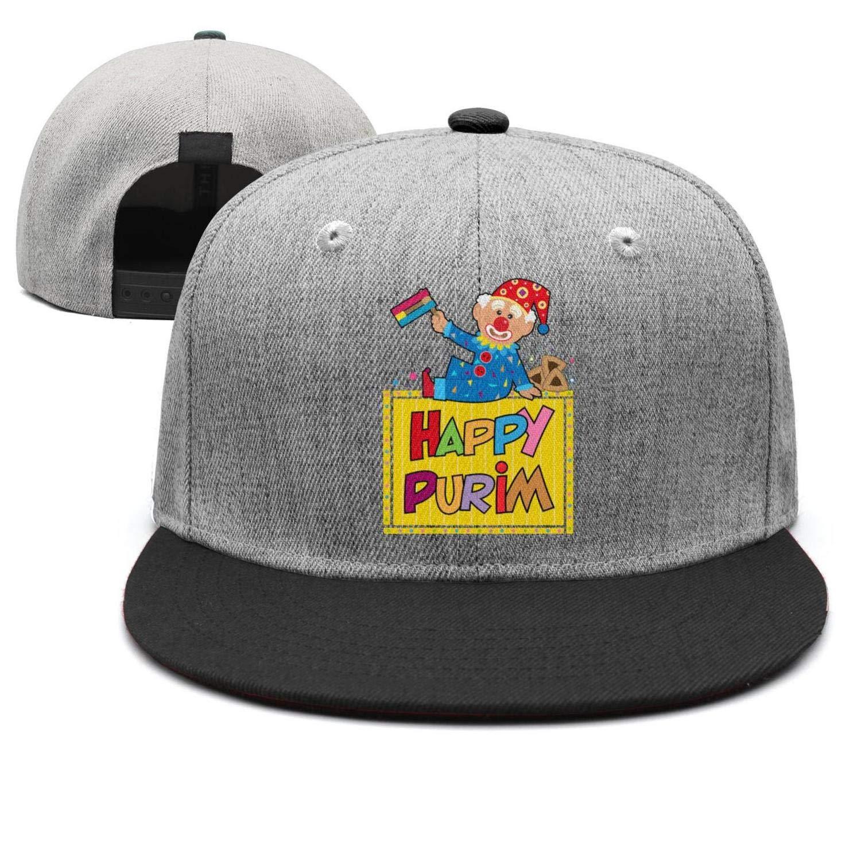 Happy Purim Clown Purim Clip Art All Cotton Vintage Twill Trucker Cap