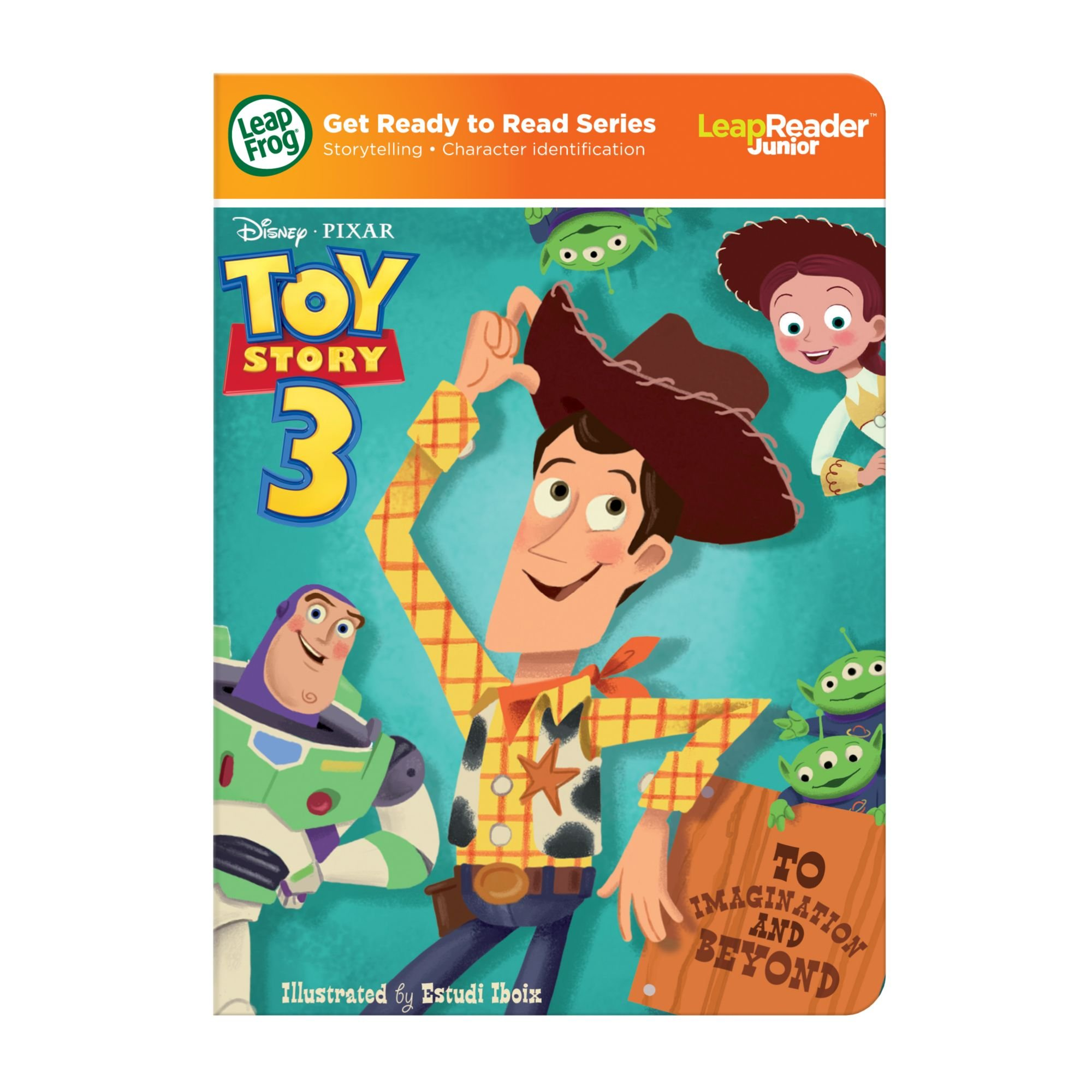 LeapFrog LeapReader Junior Book: DisneyPixar Toy Story 3: To Imagination and Beyond (works with Tag Junior) by LeapFrog (Image #7)