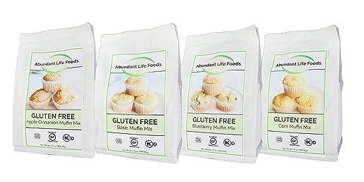 Abundant Life Food - Mezcla de magdalenas sin gluten (caja ...