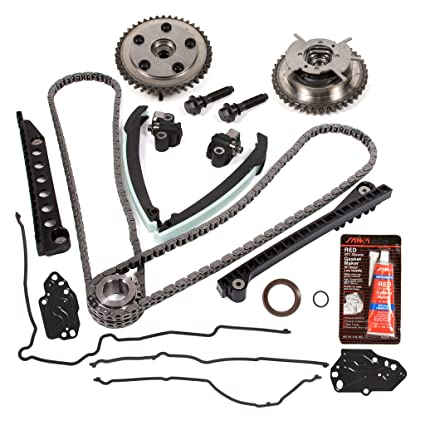 amazon com evergreen tktcs6068g 04 08 ford f150 f250 lincoln Fan Belt amazon com evergreen tktcs6068g 04 08 ford f150 f250 lincoln navigator triton 5 4 sohc 3 valve timing chain kit cam phaser timing cover gasket automotive