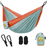 Kids Hammock for Camping - Wise Owl Outfitters Owlet Kid or Dog & Gear Sling Hammocks - Best Quality For The Outdoors Travel or Just Fun! Portable Lightweight Parachute Nylon Hammock - 3 Colors!
