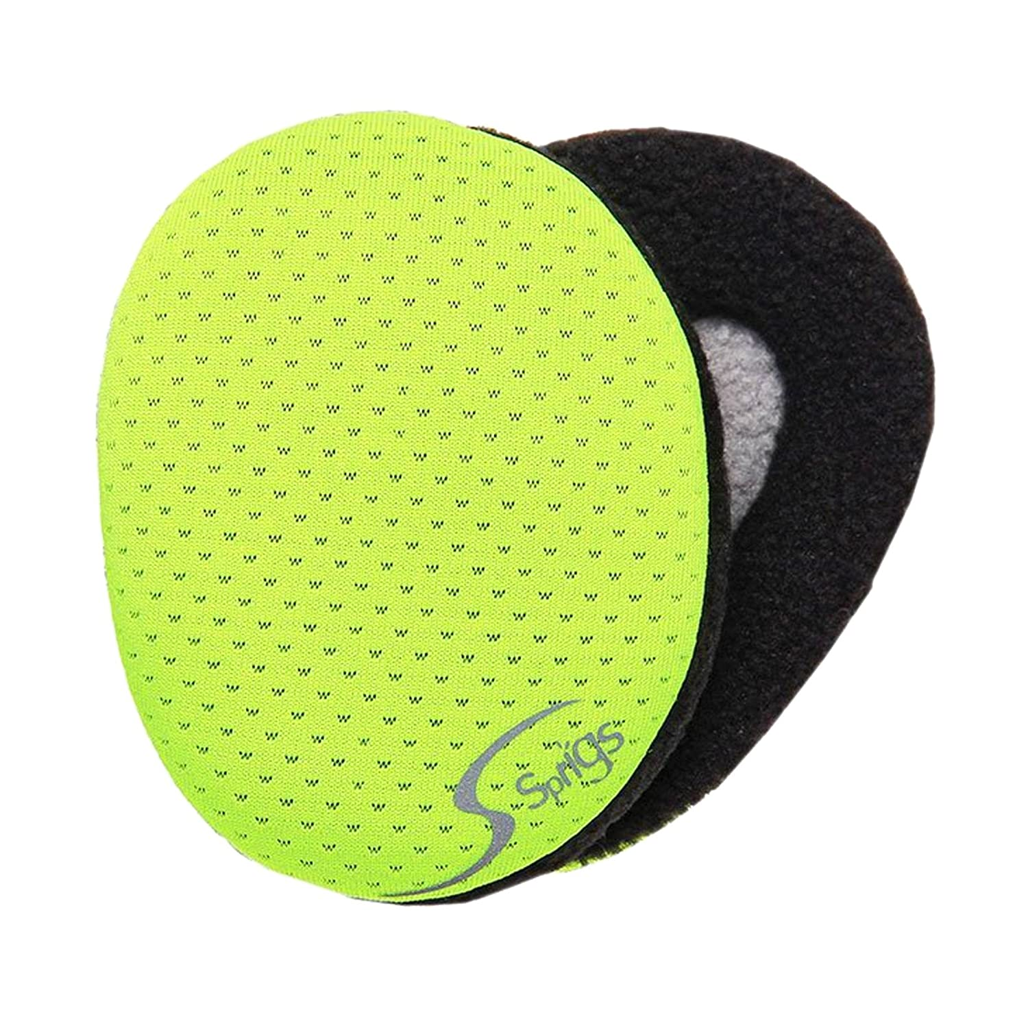 Sprigs Earbags Bandless Ear Warmers/Fleece Earmuffs with Thinsulate (Hi Viz, Medium) LYSB014RTEO4C-ELECTRNCS