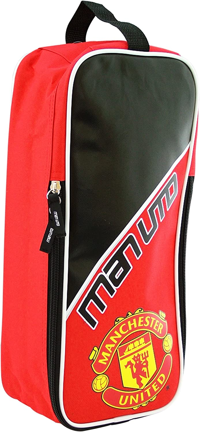 Manchester United Bootbag Red and Black
