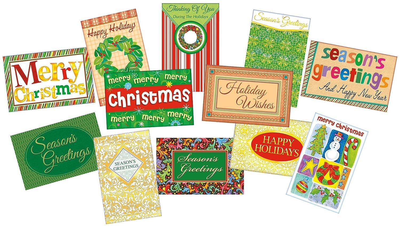 Amazon.com : Christmas Cards, Holiday Cards, Season's Greetings ...