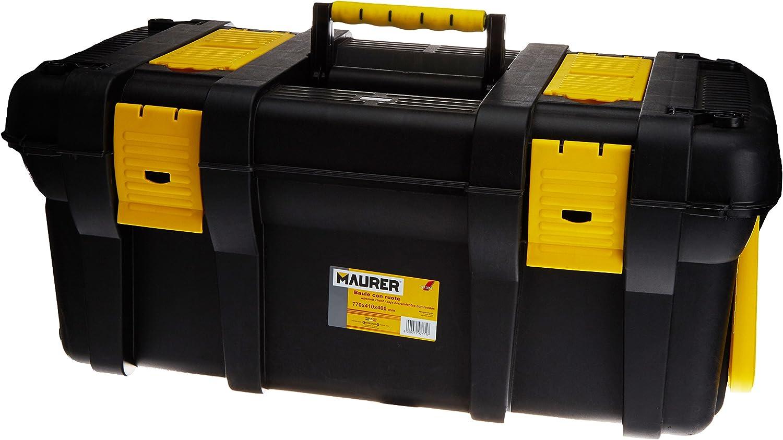MAURER 2240035 Caja Herramientas 770x410x400 mm.(Baúl con Ruedas ...