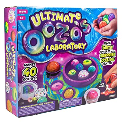 Horizon Group Ultimate Ooz-o's Laboratory - Makes 40 Slime Sphere's: Toys & Games