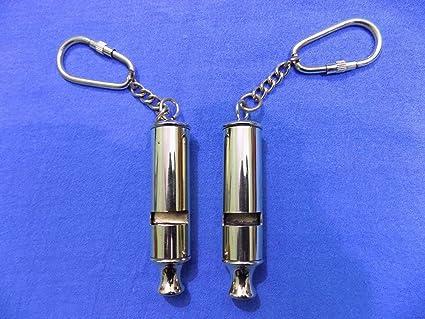 London England Police Key-chain Bobby Barrel Whistle Scotland Yard Cop Key Ring