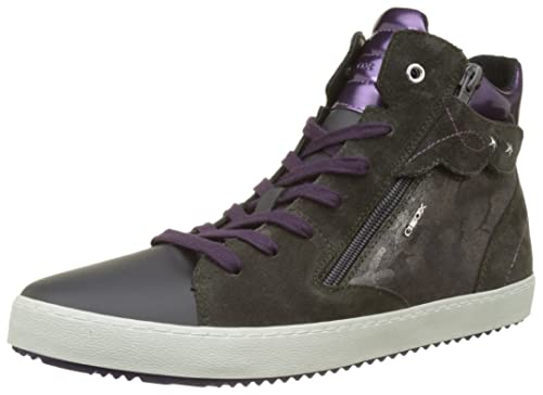 Geox J Kalispera D, Sneaker a Collo Alto Unisex Adulto