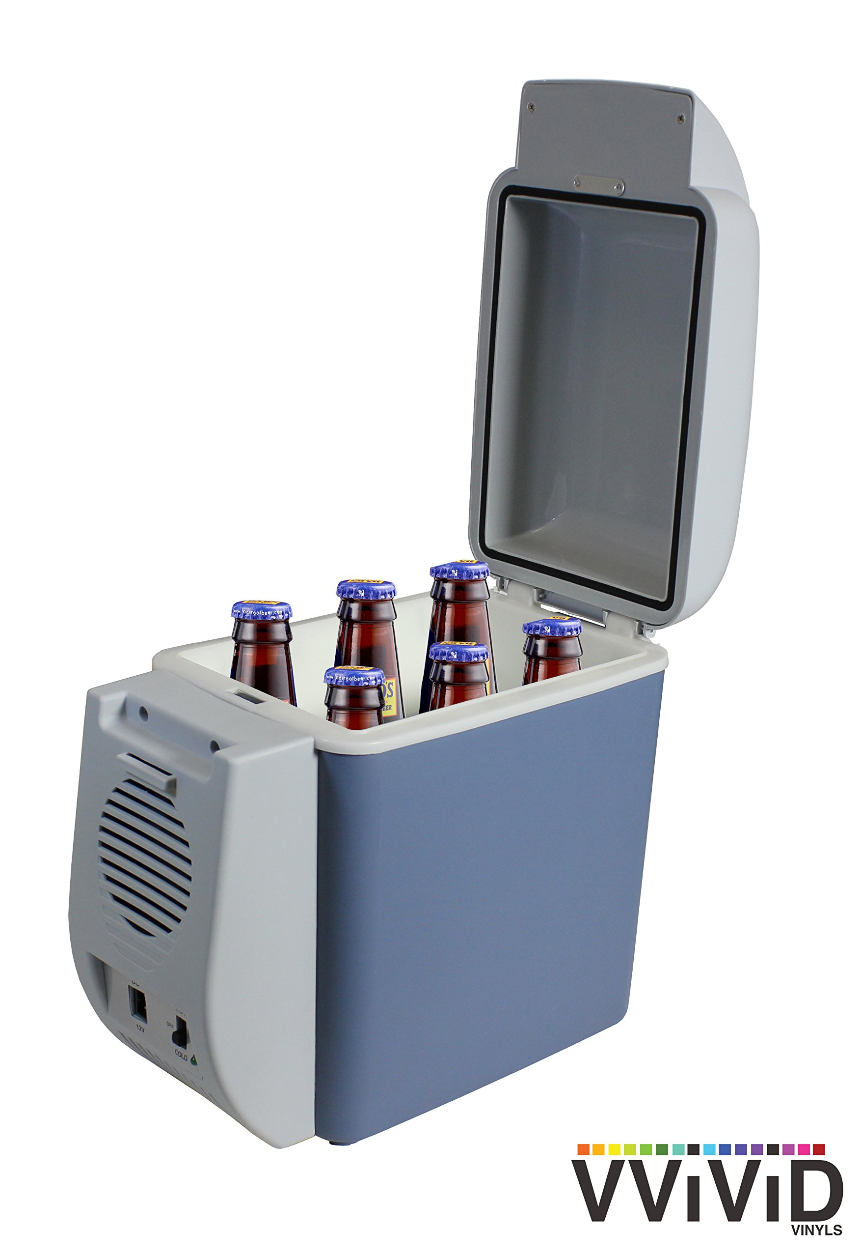 VViViD 7.5L Capacity Compact Thermoelectric Cooler/Warmer