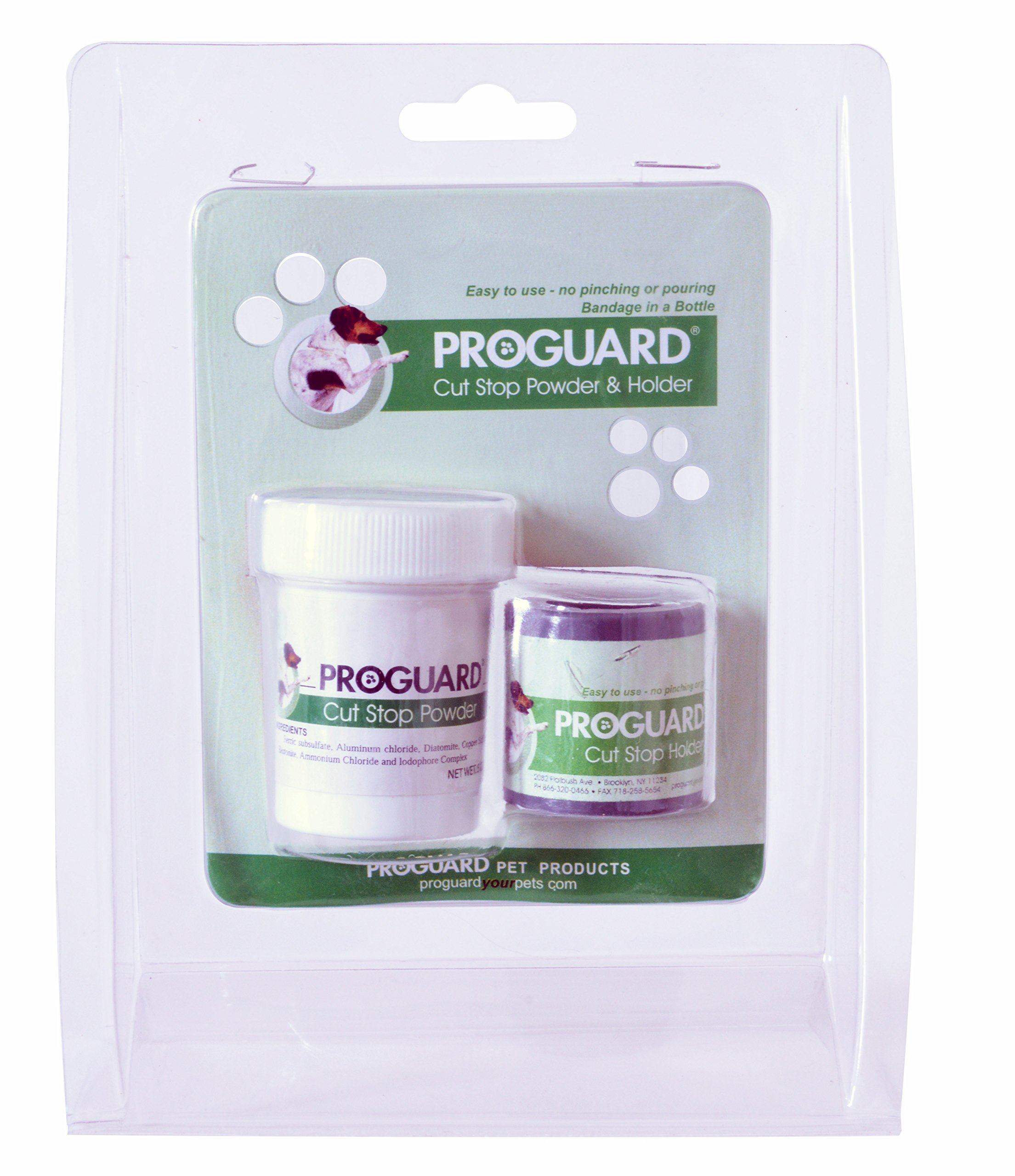 Cut-Stop Powder and Holder by Proguard Pets