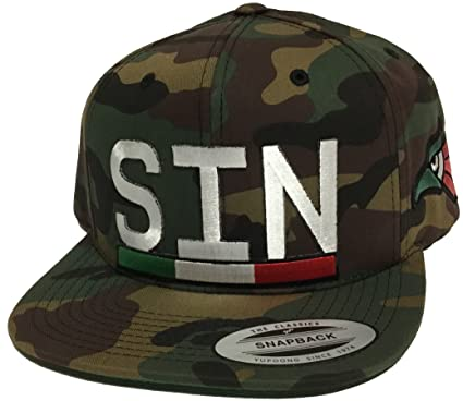 a7876cbc5c5 Image Unavailable. Image not available for. Color  Capsnmore Sinaloa Mexico  Logo Federal 2 Logos Hat Camo ...