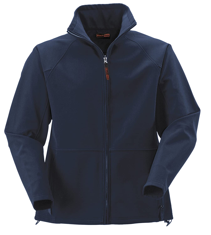 c3e217648 Blackrock Men's Navy Atmosphere Soft Shell Jacket: Amazon.co.uk ...
