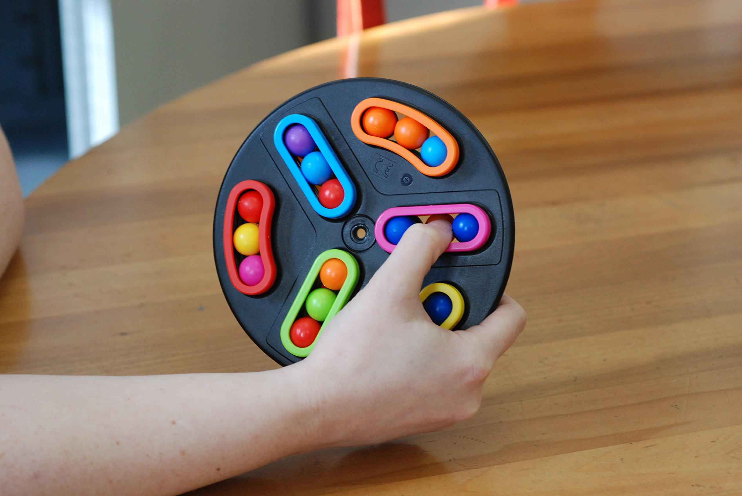 Back-Spin Handheld Puzzle Game