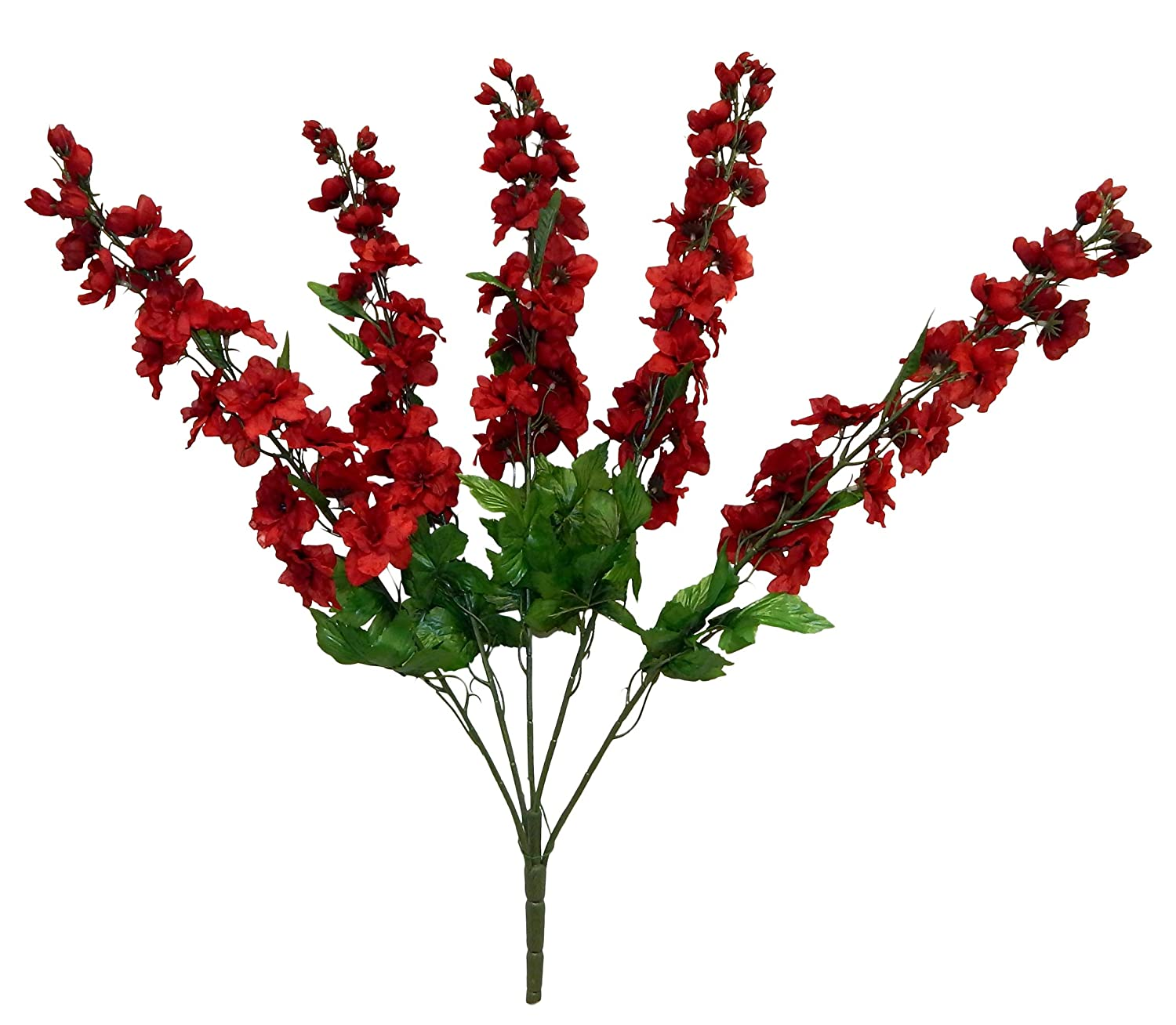 Amazon 30 Delphinium Bush Artificial Silk Wedding Craft