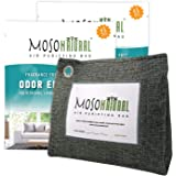 MOSO NATURAL Stand-Up Air Purifying Bag 600g. Odor Eliminator, Odor Absorber for Home and Basement. (2 Pack)