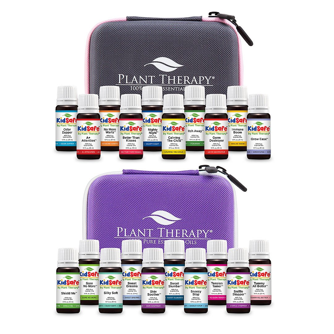 Plant Therapy KidSafe Synergy Essential Oil Complete Set 10 mL