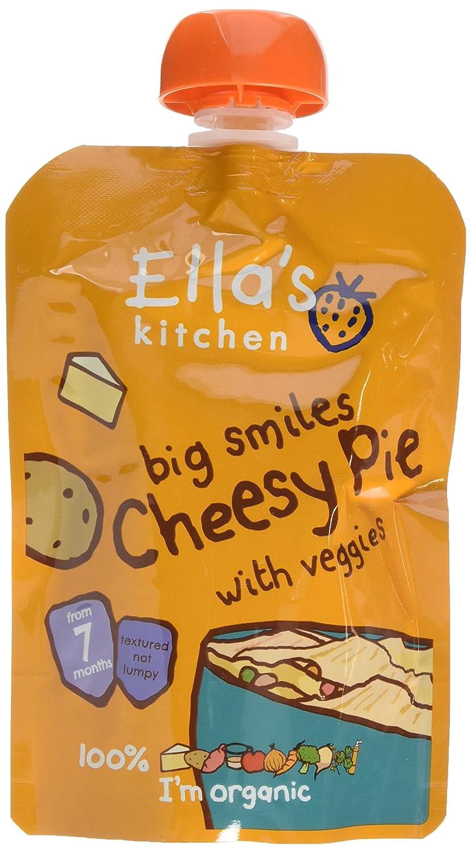 Ella's Kitchen Stage 2 from 7 Months Organic Cheese Pie 130 g (Pack of 6) Ella's Kitchen EK114