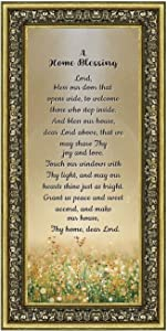 A Home Blessing, God Bless This Home Sign, Home Blessing Décor, 7314G