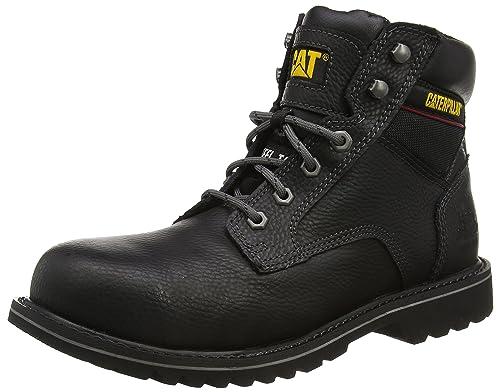 CaterpillarElectric - Zapatos de Seguridad Hombre, Color Negro - Negro, 43
