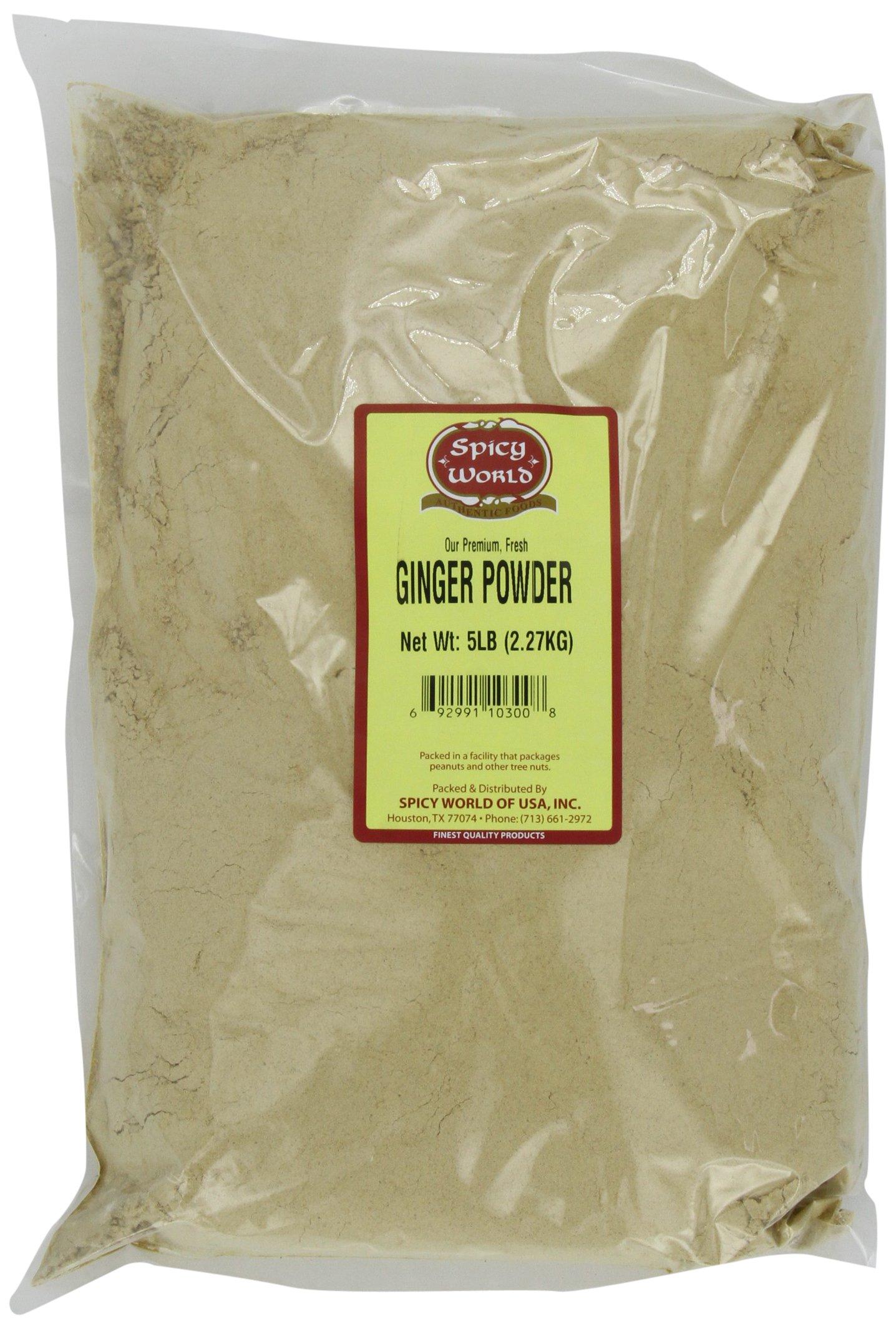 Spicy World Ginger Powder (Ground), 5-Pound by Spicy World (Image #1)