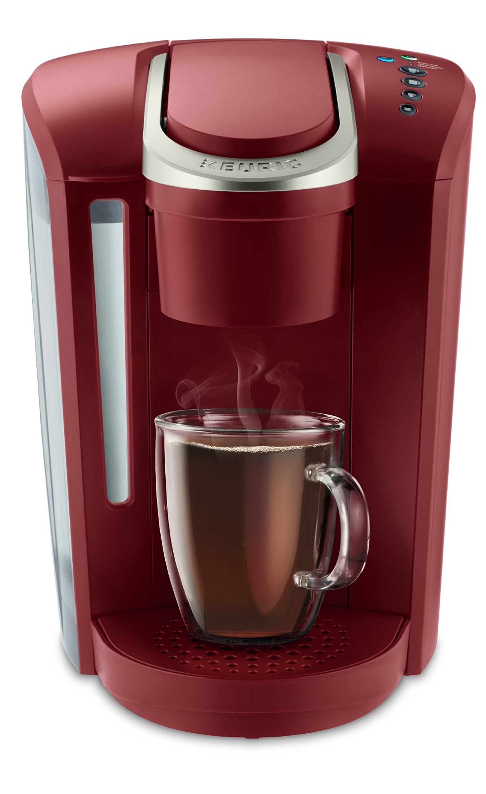 Keurig K-Select Coffee Maker, Single-Serve K-Cup Pod Coffee Machine, Vintage Red