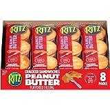 RITZ Peanut Butter Sandwich Crackers, 8 - 1.38 oz Packs