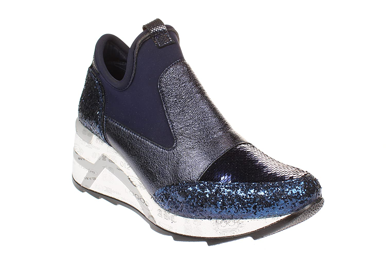 Cetti C1121 SRA - Damen Schuhe Turnschuhe - Glitter-neo-Marina