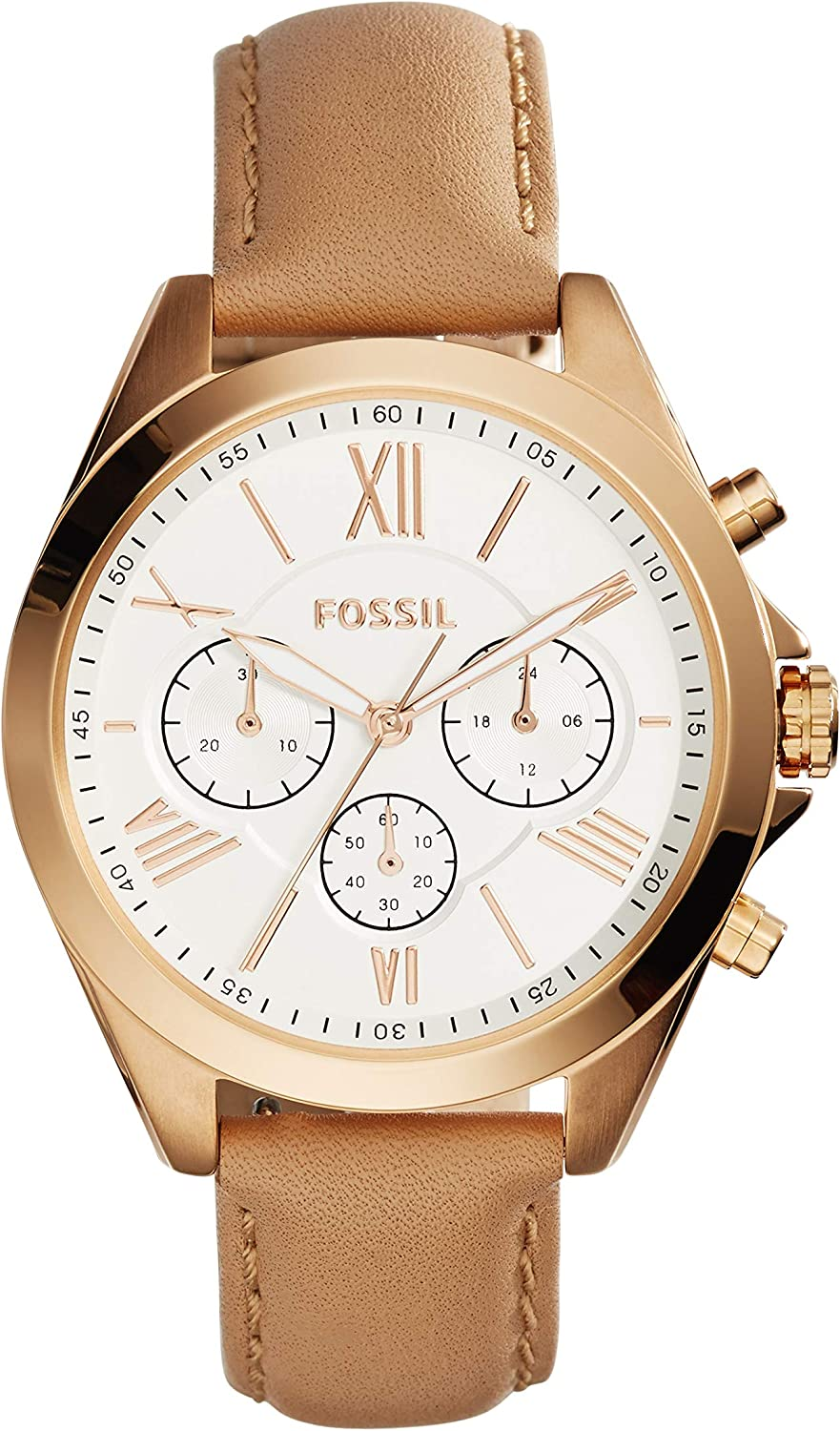 Amazon.com: Fossil Womens Modern Courier Quartz Stainless ...