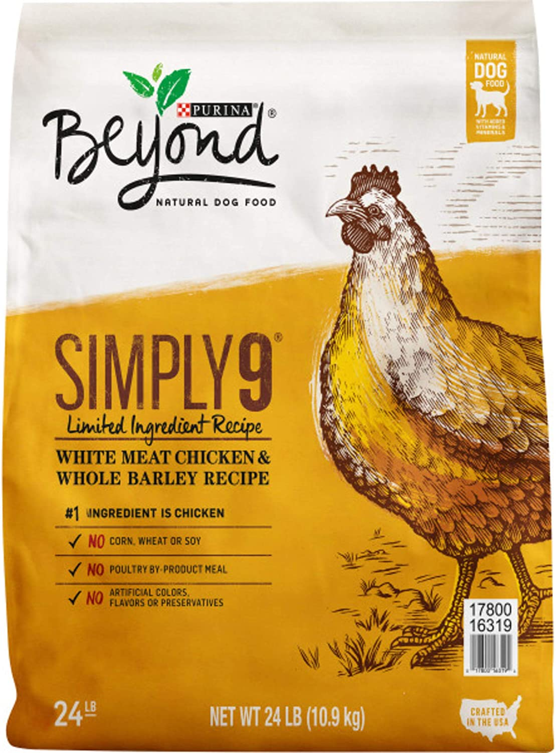Purina Beyond Simply 9 Natural Limited Ingredient, Adult Dry Dog Food