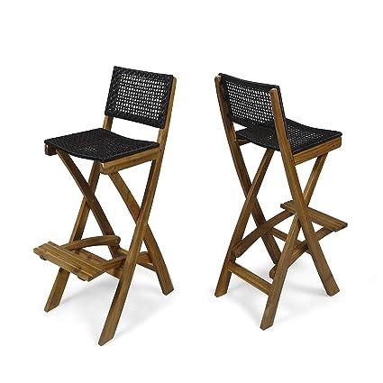 Amazon.com: Great Deal Furniture Constance - Taburetes de ...