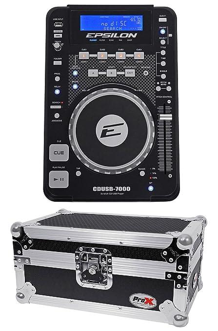 Amazon.com: Epsilon cdusb-7000 mesa DJ scratch CD/MP3/USB ...