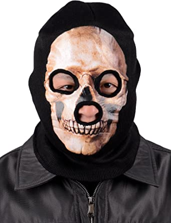 Men Cycling Motorcycle Skull Out Riding Full Face Ski Masks